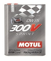 Motul 2L Synthetic-ester Racing Oil 300V SPRINT 0W15